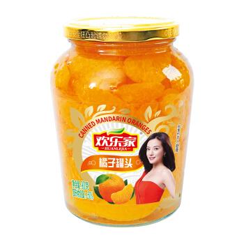 欢乐家 水果罐头 橘子罐头 900g