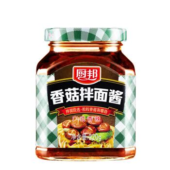 厨邦 香菇拌面酱 220g