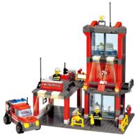 KAZI 开智 城市消防系列 8052 消防分局套装