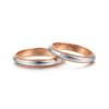 zbird 钻石小鸟 呢喃心语 950铂金+18K金 钻石戒指