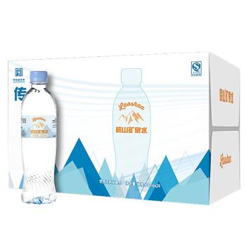 laoshan 崂山 传承系列 天然矿泉水 500ml*24瓶 整箱装