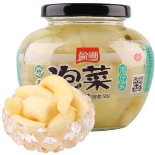 盈棚 泡仔姜 (瓶装、350g)