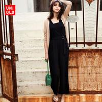 UNIQLO 优衣库 412915 女士连体裤 (灰色、S)