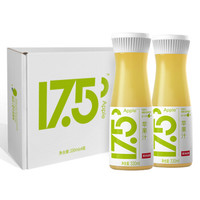 NONGFU SPRING 农夫山泉17.5°NFC鲜苹果汁礼盒装 330ml*4瓶 *7件