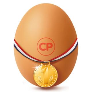 正大食品 正大初产鲜鸡蛋 25枚 褐壳蛋