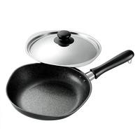 柳宗理 铸铁平底不粘煎锅 含盖 25cm