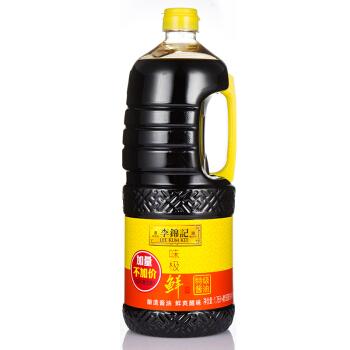 李锦记 味极鲜 特级生抽酱油 1.9L