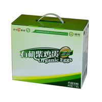 百年栗园 有机柴鸡蛋 30枚 (盒装)