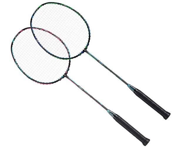 KAWASAKI 川崎 PK-007 羽毛球拍(两只装)