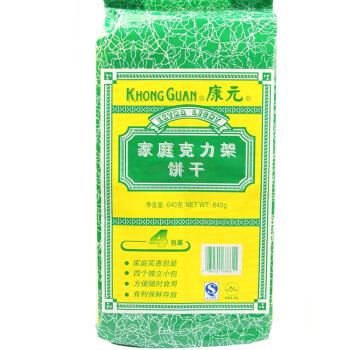 KHONG GUAN 康元 家庭克力架饼干 (袋装、640g)