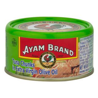 AYAM BRAND 雄雞標 特级初榨橄榄油浸金枪鱼罐头 185g