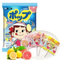 FUJIYA 不二家 果味棒棒糖 柠檬味+西柚味 (袋装、125g)