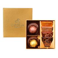 GODIVA 歌帝梵 典藏金装 巧克力礼盒 6颗装 40g