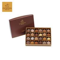 GODIVA 歌帝梵 松露形巧克力礼盒 24颗 351g