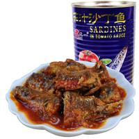 LONEN 龙一 茄汁沙丁鱼罐头 425g