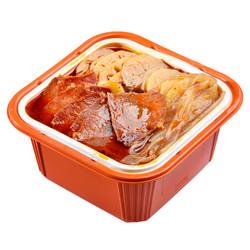 蜀坊斋 方便速食 自热自煮牛肉火锅 420g 等多款共2荤8素 共10盒 *10件