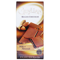 Guylian 吉利莲 扁桃仁牛奶巧克力排块 100g