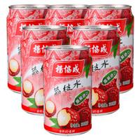 yeo's 杨协成 荔枝水饮料 (300ml*6罐)