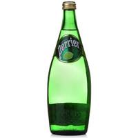 Perrier 巴黎水 天然含汽矿泉水 青柠味 750ml
