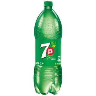7-Up 七喜 柠檬味碳酸饮料 2L