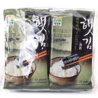 清净园 香脆海苔 23g(2.3g*10包)*4袋