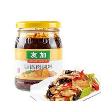友加食品 调味酱 回锅肉调料 川菜炒菜调味酱240g *4件