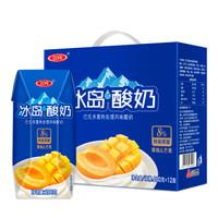 三元 芭缔欧冰岛式酸奶  黄桃&芒果 200g*12盒 *5件