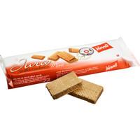 瑞士进口 Wernli万恩利汝拉可可味夹心迷你威化饼干 130g *8件