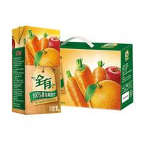 汇源 全有 100%复合果蔬汁 1L*4盒
