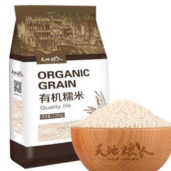 TIAN DI LIANG REN 天地粮人 有机糯米 1.25kg