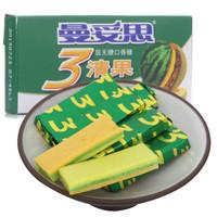 Mentos 曼妥思 清果3层无糖口香糖 (西瓜味+菠萝味+蜜瓜味) 14片装29g