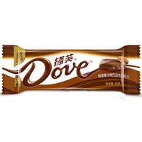 Dove 德芙 醇香摩卡烤巴旦木巧克力 43g