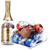 Lindt 瑞士莲 软心系列 软心精选巧克力 28粒香槟瓶型礼盒 336g