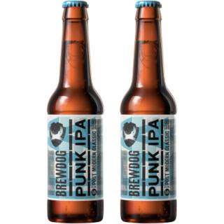 Brewdog 酿酒狗 Punk IPA 朋克英式印度淡啤酒 330ml*2瓶 *6件 +凑单品