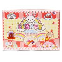 智高(ZHIGAO)kk兔魔法学堂36色魔法粘土轻质彩泥袋装补充装创意玩具kk-1003