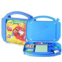 绘儿乐(Crayola) 手指画颜料剪刀蜡笔水彩笔 儿童节礼物 绘画套装 儿童手工工具箱 04-5674
