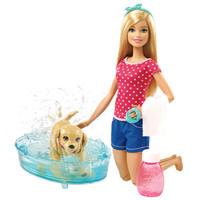 Barbie 芭比 DGY83 狗狗爱洗澡 (带娃娃)