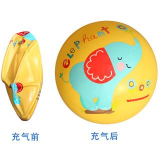 费雪(Fisher Price)儿童玩具球三合一(哑铃球+拍拍球+摇摇球 颜色随机 赠送打气筒)
