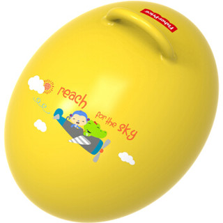 Fisher-Price 费雪 F0706H3 宝宝健身球 蛋形跳跳球 黄色