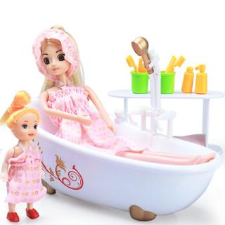 AoZhiJia 奥智嘉 3D真眼公主娃娃套装大礼盒