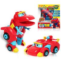 移动端 : 灵动创想 帮帮龙出动儿童玩具男孩女孩变形玩具 帮帮龙发声变形系列-韦斯5901 *4件