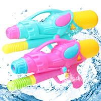奥智嘉 儿童水枪抽拉式高压水枪沙滩戏水玩具 儿童玩具 男孩女孩玩具礼物 *2件