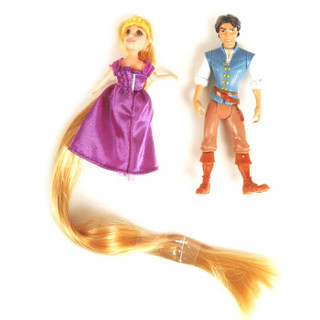 Disney 迪士尼 T7566 迷你长发公主与王子