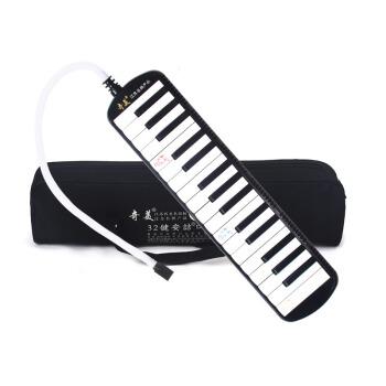 奇美 32键口风琴安喆(黑色)