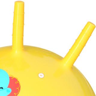 Fisher-Price 费雪 F0705H 儿童羊角球 40cm 黄色
