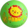 费雪(Fisher Price)儿童玩具球 宝宝小皮球拍拍球9寸(绿色 赠送打气筒)F0516H2