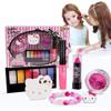 凯蒂猫( hellokitty )儿童化妆品美妆腮红眼影唇膏彩妆玩具送礼女孩KT-8582