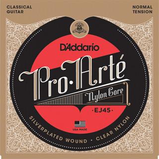 D'Addario 达达里奥 EJ45 古典吉他尼龙琴弦 标准张力