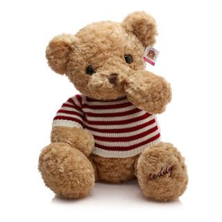 GLOBAL BOWEN BEAR 柏文熊 美国毛衣熊公仔 卡其 60cm