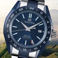 双11预售、新品发售 : Grand Seiko 9S机芯20周年纪念版 SBGJ229G 男士两地时机械腕表